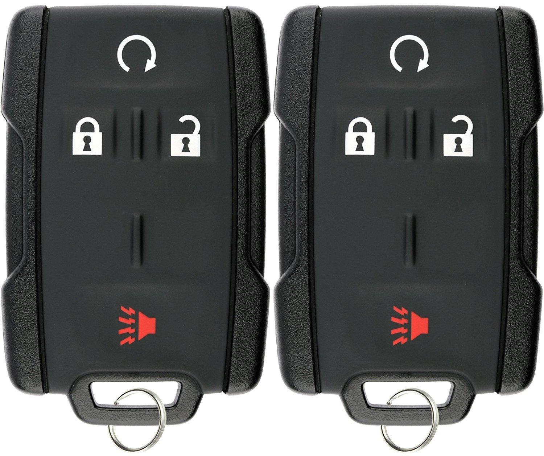 KeylessOption Keyless Entry Remote Control Car Key Fob Replacement for Sierra Silverado M3N-32337100