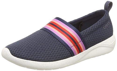 Crocs Literide Mesh Slip On W, Mocasines para Mujer: Amazon.es: Zapatos y complementos