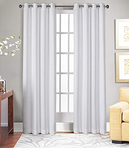 Amazon.com: Curtains for Living Room and Bedroom, Made of 100 ...