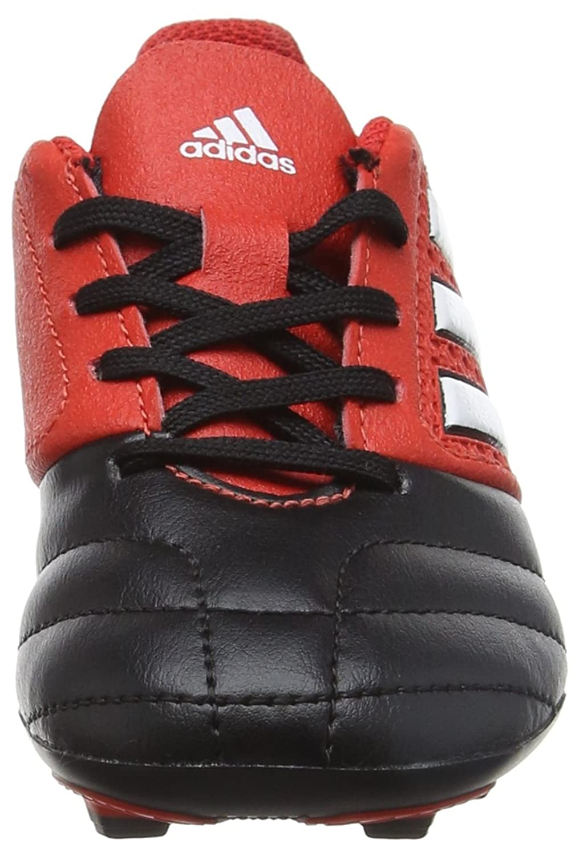 new style ad778 dca40 ... adidas WhiteCore Ace 17.4 FxG Botas J, Botas de Fútbol (RedFtwr Unisex  Niños Rojo ...