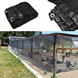 50% Sunblock Shade Cloth Net Black UV