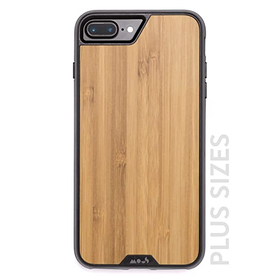 meet a2dfe 19b94 Mous Protective iPhone Plus 8+/7+/6s+/6+ Plus Case - Real Bamboo Wood -  Screen Protector Inc.