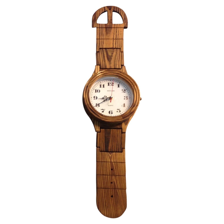 Amazon creative motion giant wrist watch clock home kitchen amipublicfo Choice Image