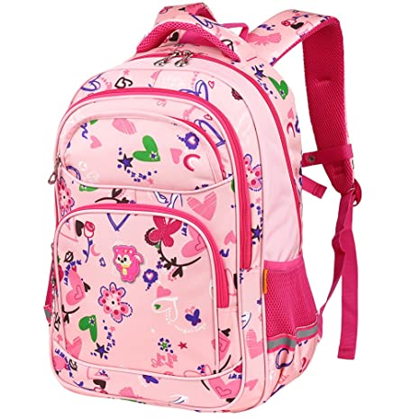 525c893d10 Vbiger Zaino Scuola Chic Zaino per bambini portatile Sacchetto di libro  della scuola primaria