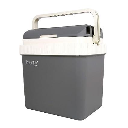 Camry cr-8065 Nevera portátil eléctrica 24 litros CR 8065, Gris, 0 ...