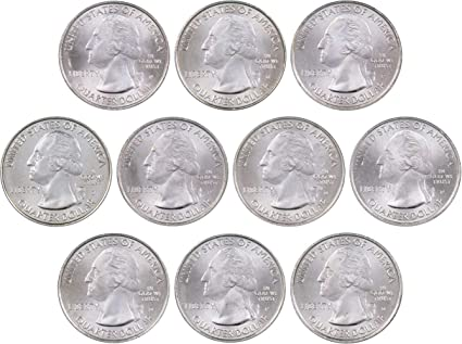 2013 S /& Proofs 25C White Mountain National Parks ATB Quarter Set Uncirculated