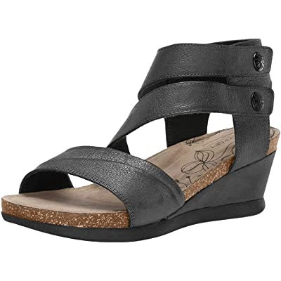 Rockport Cobb Hill Women Shona Asym Cuff Sandal | Sandals