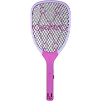FLYNGO Rechargeable Electric Mosquito Racket Bug Zapper Fly Swatter and Insect Killer Bat