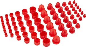 Plastic AN Fitting Cap and Plug Kit, 72 Pieces