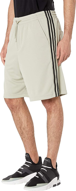 ff7a6ae9e94e3 adidas Y-3 by Yohji Yamamoto Men's 3-Stripes Track Shorts at Amazon ...