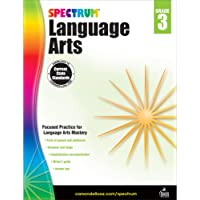 Carson Dellosa – Spectrum Language Arts, Focused Practice for Language Arts Mastery for 3rd Grade, 176 Pages, Ages 8–9…