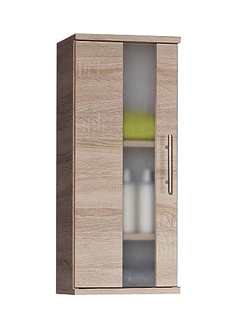 Schildmeyer Hängeschrank, Holzdekor, Sonoma Eiche, 20.5 X 30.3 X 70.8 Cm