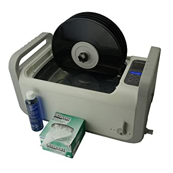 iSonic P4875+Mvr5 or P4875II-4T+Mvr5 Motorized Ultrasonic Vinyl Record Cleaner, 2 Gal/7.5 L, 110V (5-Records)