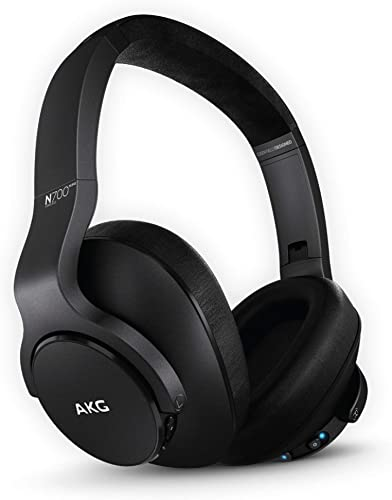 AKG A Samsung Brand N700NC M2 Over-Ear Foldable Wireless Headphones, Active Noise Cancelling Headphones – Black US Version , 2.6, Model GP-N700HAHCIWA