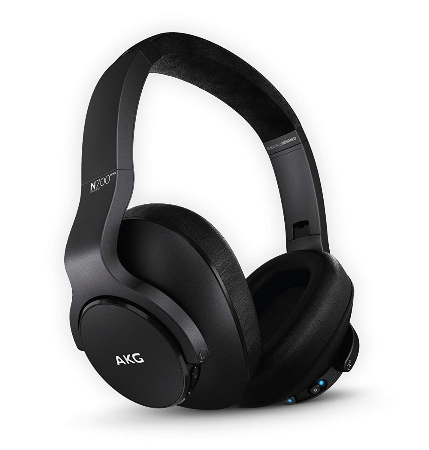AKG (A Samsung Brand) N700NC M2 Over-Ear Foldable Wireless Headphones, Active Noise Cancelling Headphones - Black (US Version)