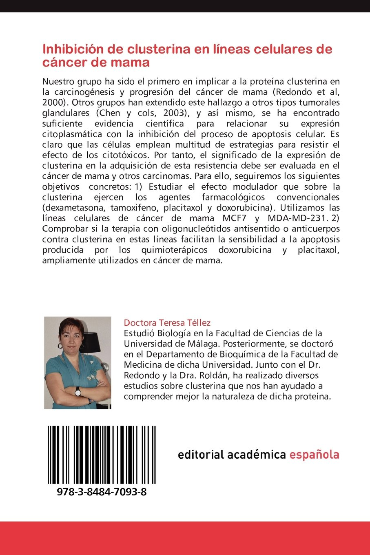 Inhibicion de Clusterina En Lineas Celulares de Cancer de ...