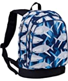 15 Inch Backpack, Wildkin Extra Durable 15 Inch Backpack with Padded Straps and Interior Moisture-Resistant Lining, Perfect for School or Travel – Sharks