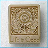Life is Good 50179 Craft Art Silicone Soap mold Craft Molds DIY Handmade soap molds
