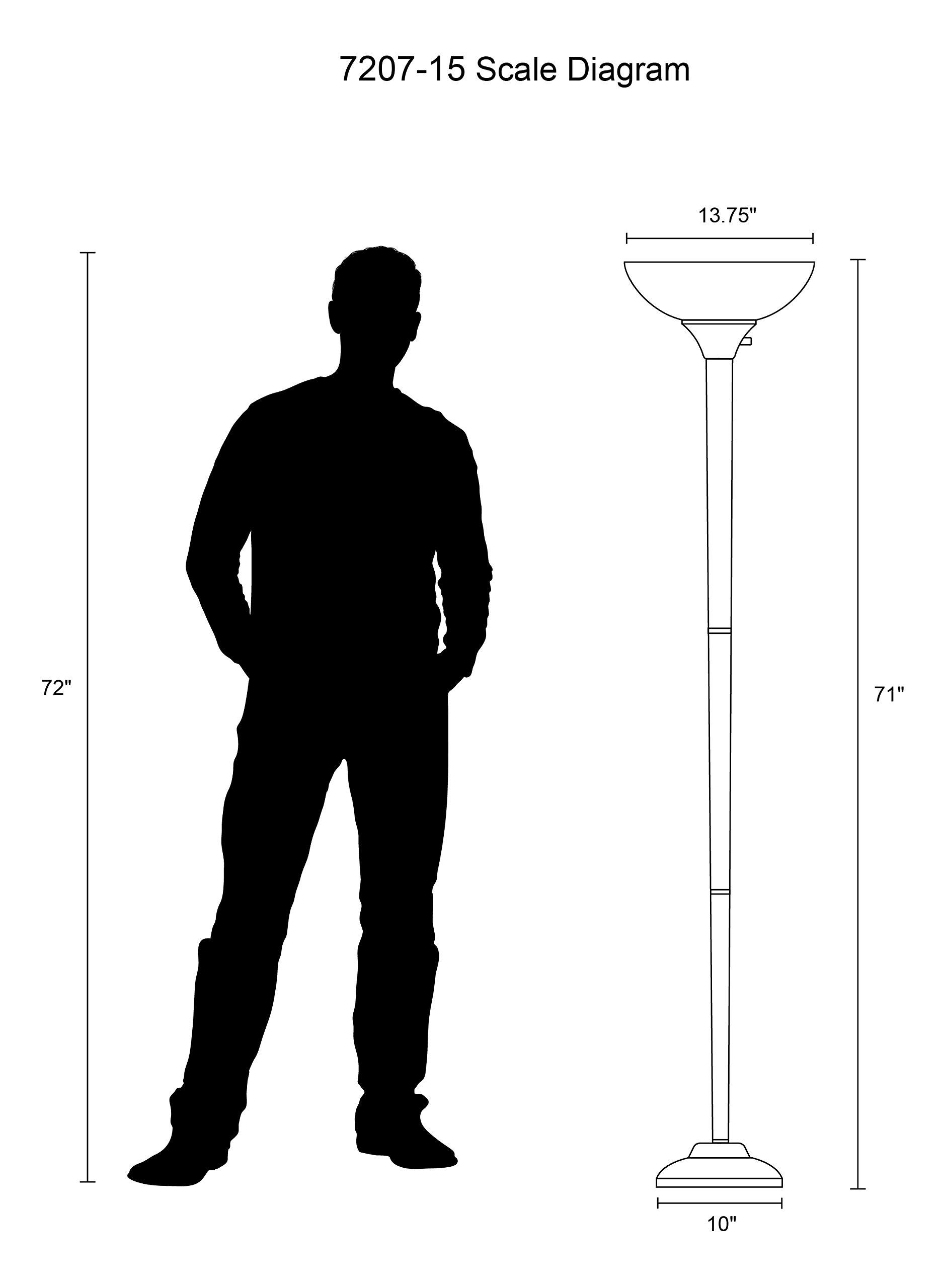 Galleon ikea 10139879 not floor uplight lamp 69 inch for Ikea floor uplight reading lamp 69 black