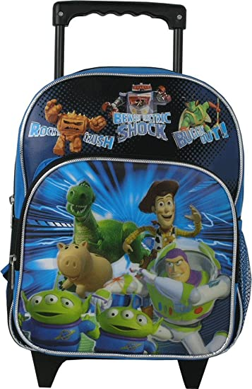 dd7368219f2 Image Unavailable. Image not available for. Color  Toy Story Toddler  12 quot  Rolling backpack