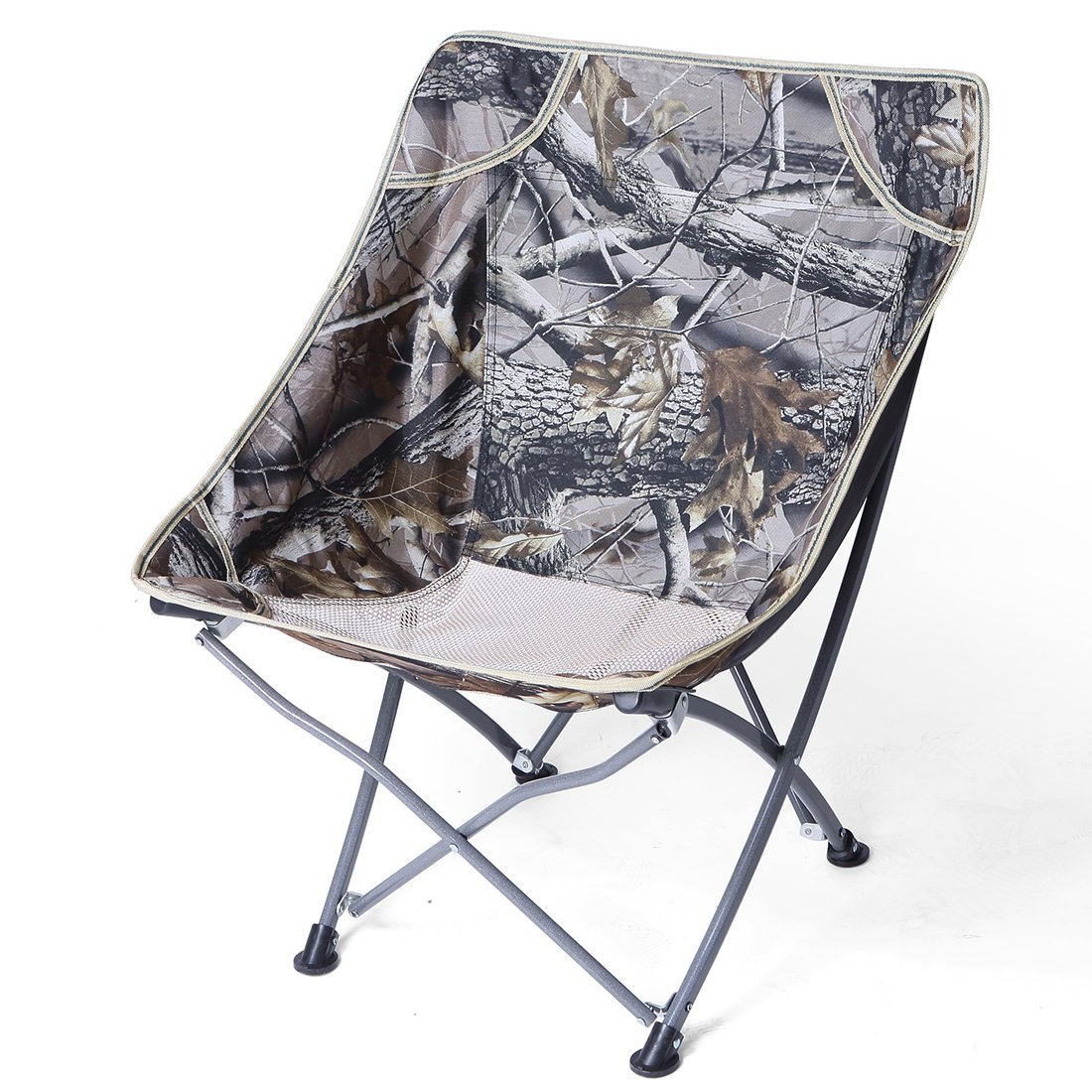 Idyewant Ultralight Protable Backpack Outdoor Camping Chairs, Compact & Beach Chairs Backpack Fishing Outdoor Folding Chairs by Idyewant