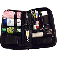Tiamo All In One Shaving Grooming Traveling Kit with 13 Accessories