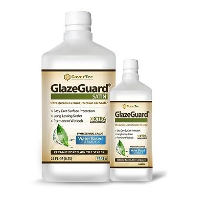 Glazeguard Satin Floor Sealer Wall Sealer For Ceramic Porcelain
