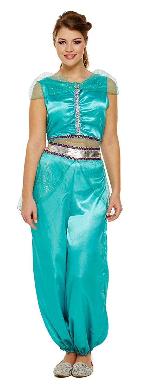 Emmas Wardrobe Traje del Vestido Princesa árabe Fantasía ...