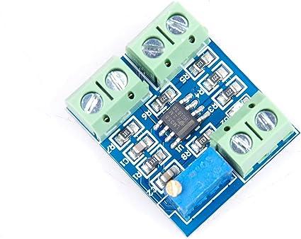 0-5V to 4-20mA//0-20mA Sensor Voltage to Current Transmitter signal Module 12V DC
