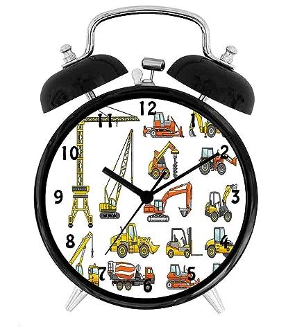 Amazon.com: BCWAYGOD Construction, Cartoon Heavy Equipment ...