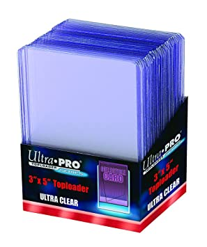25 Ultra Pro Tall Cards Widevision Toploader - Ultra Clear ...