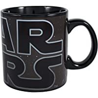 Silver Buffalo Star Wars Logo Heat Reveal Ceramic Mug, 20 oz