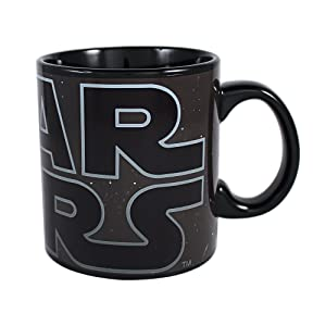 Star Wars SV5734HB Silver Buffalo SV5734H Logo Heat Reveal Ceramic Mug, 20-Ounce, 20 oz