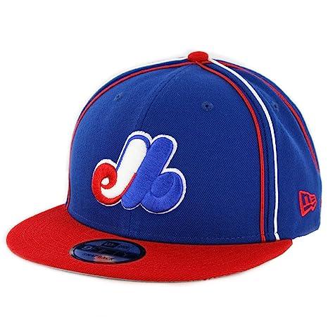 Amazon.com   New Era 9Fifty Montreal Expos Y2K Soutache Snapback Hat ... 32eb6a0d0e0