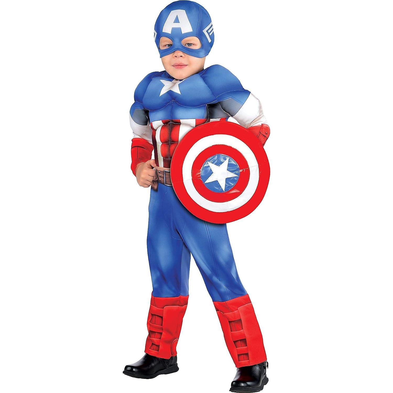 Amazon.com: Traje Yourself Classic Capitán América Muscle ...