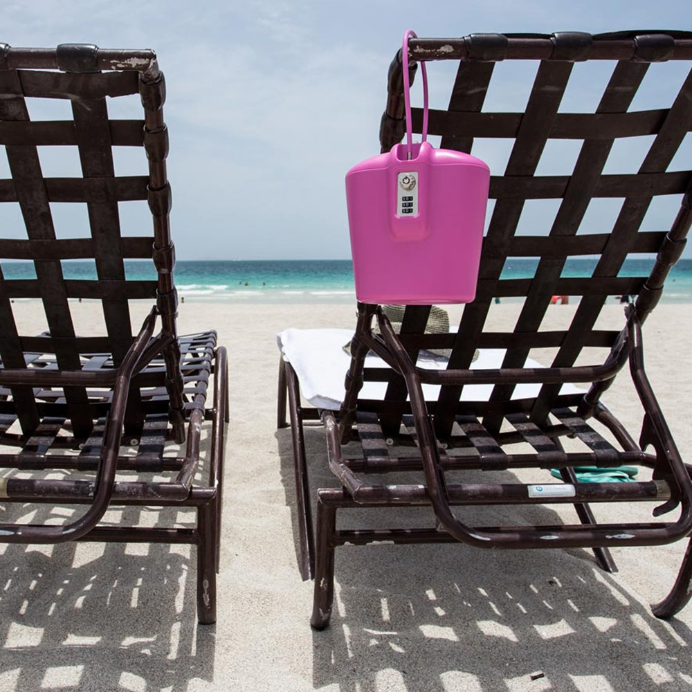 Portable Lockable Safe For Beach