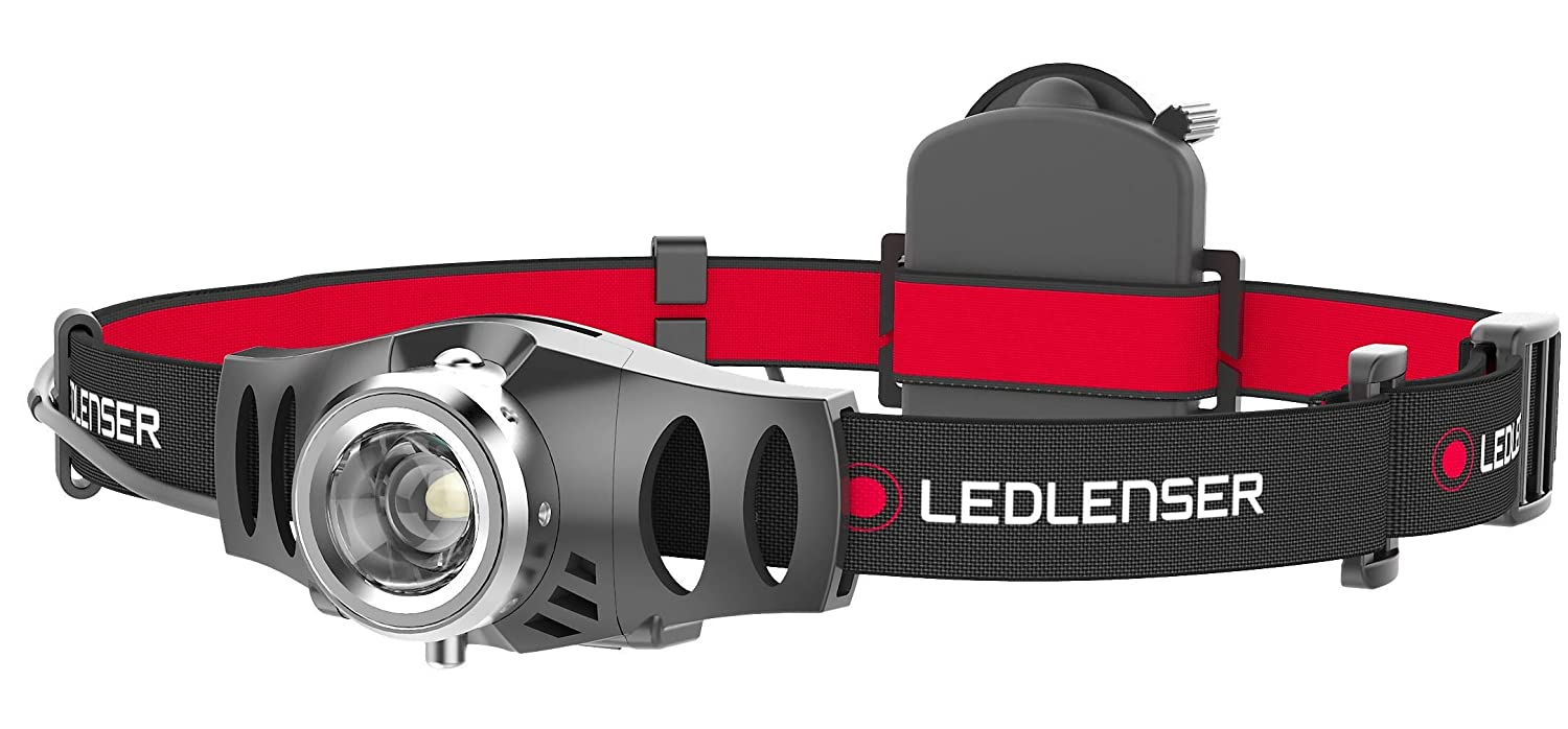 Ledlenser H3.2 LED Head Lamp (Black) - Test-It Pack, 500768