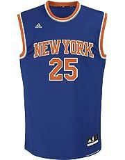 adidas NBA New York Knicks Derrick Rose  25 Men s Replica Jersey f9f19cb0b
