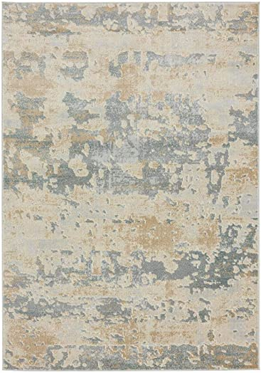 Luxe Weavers New Castle Sage 5×7 Modern Area Rug