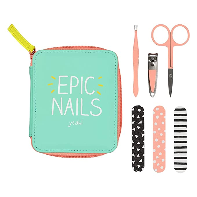 Amazon.com: Happy Jackson HAP482 Manicure Set Epic Nails Yeah: Kitchen & Dining