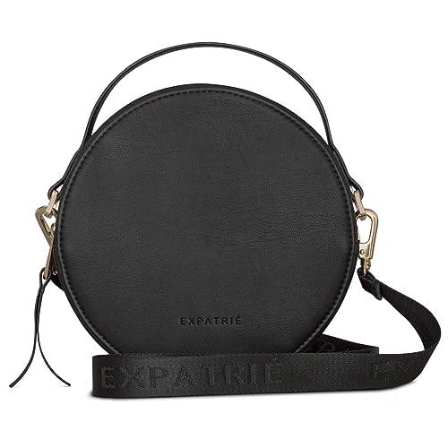 d5e31fb2e4 Expatrié Round Bag Black Small Women Celine Crossbody Fashion Trendy Handbag