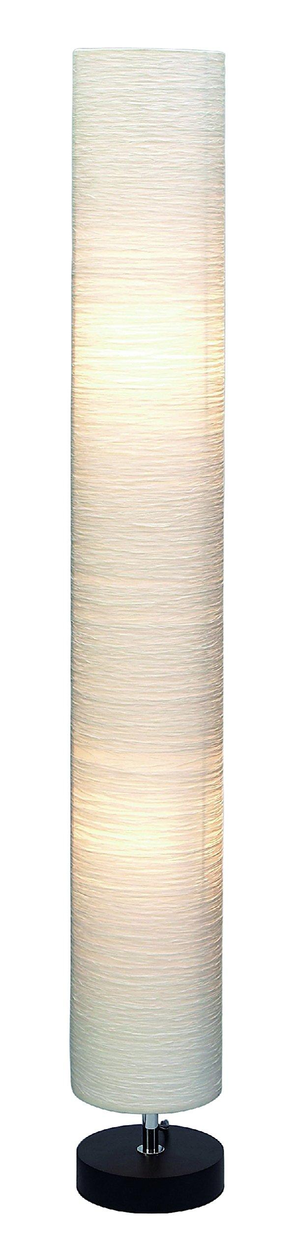 Deco 79 Wood Floor Lamp, 48-Inch