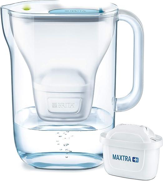 Carafe Filtrante,Brita incluse 1 Cartouche Filtrante MAXTRA 2.4L