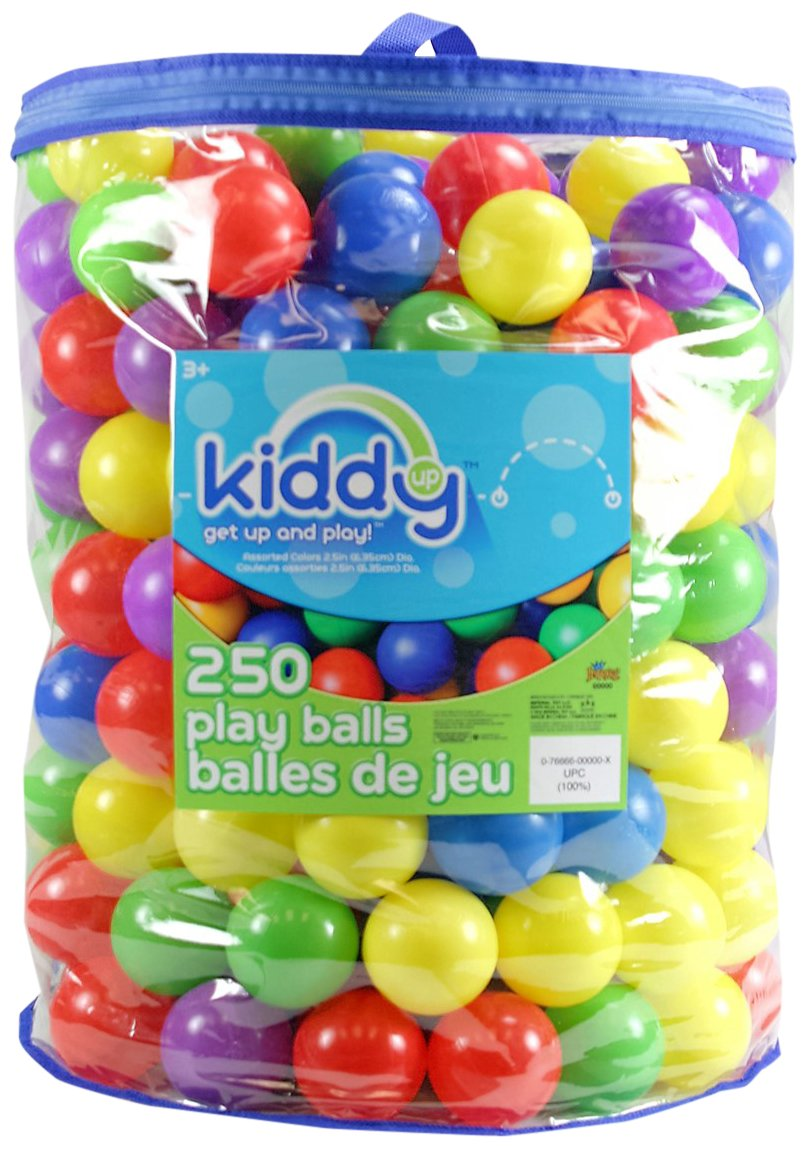 Kiddy Up Crush Resistant Pit Balls Playset (100 Count) Imperial Toy 23058