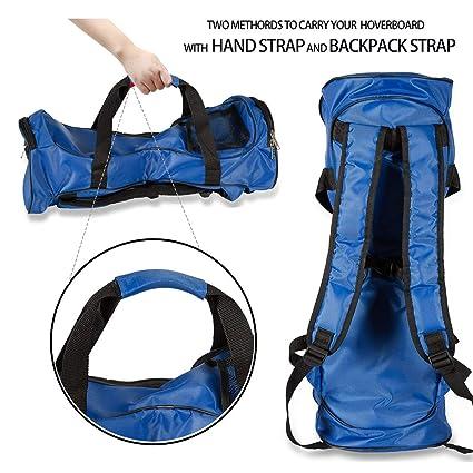 FBSPORT Hover Bag Impermeable para Dos Ruedas Equilibrio eléctrico Scooters Inteligentes Borad (Mochila de Transporte y Bolso de Moda) con Correas de ...