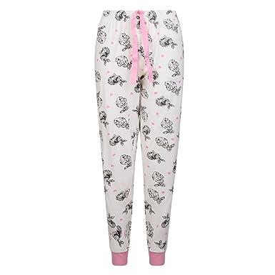 df9e64a863d3 LADIES PYJAMA BOTTOMS EX AVON COTTON PRINTED WOMENS LOUNGE PANTS UK 8-22.   Amazon.co.uk  Clothing