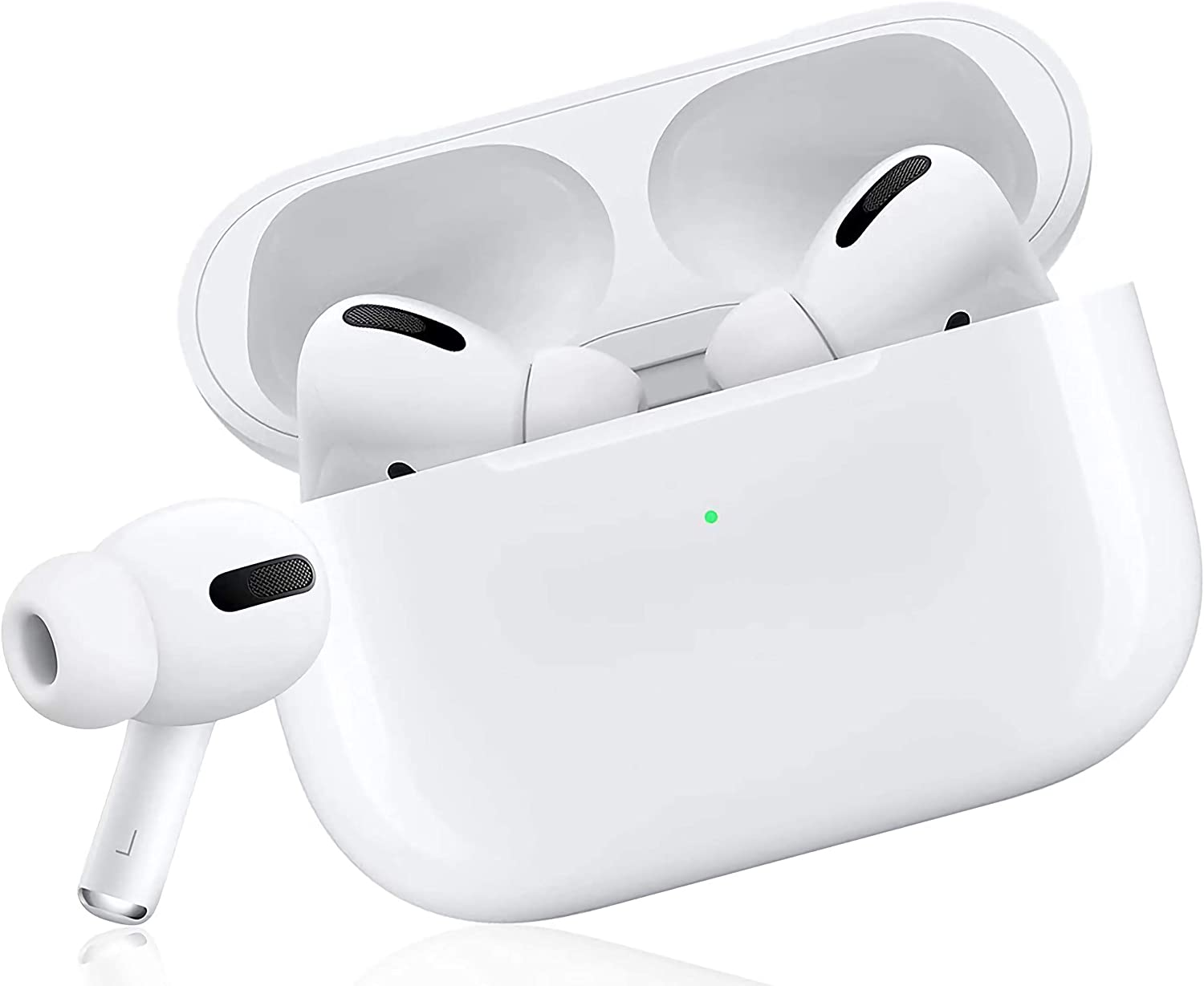 Wireless Earbuds Bluetooth Headphones with Charging Case IPX5 Waterproof Sports Headphones with Built-in Mic, Touch Control Bluetooth Earbuds Suitable for iPhone/Android/Samsung