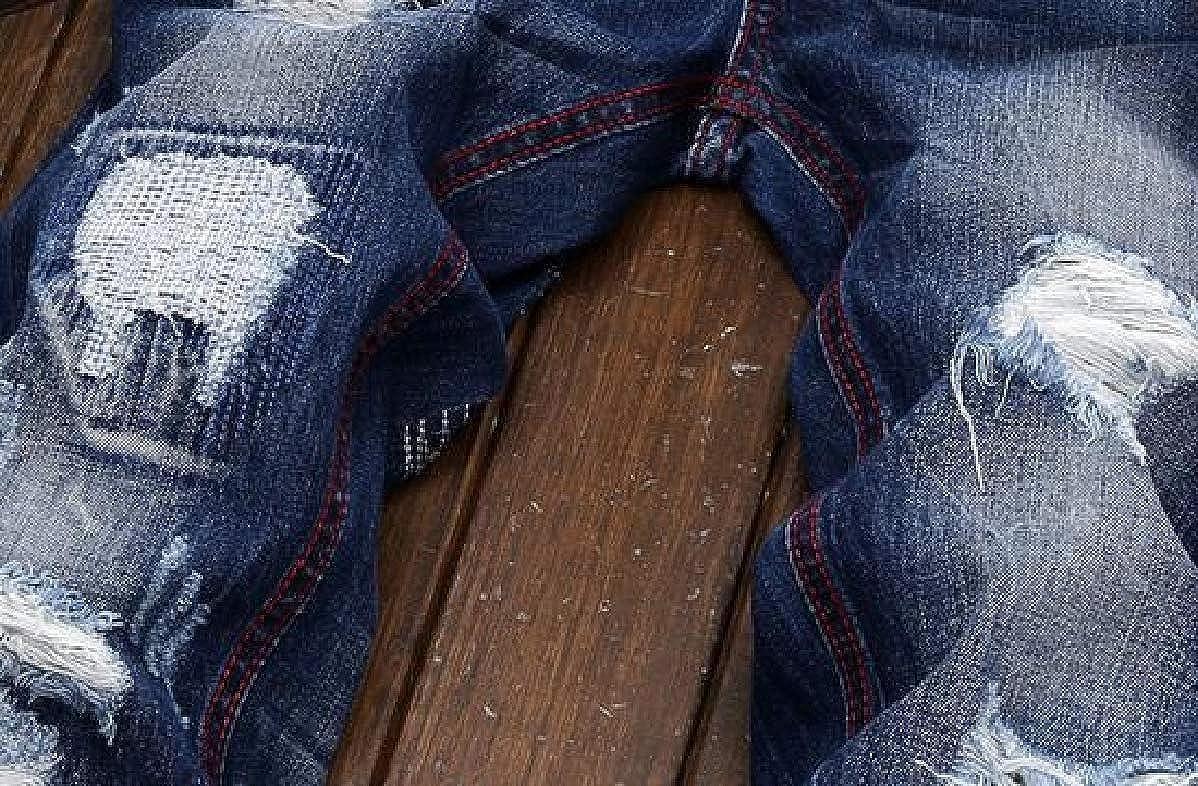 Xswsy XG Mens Ripped Slim Straight Fit Biker Jeans Vintage Denim Jeans