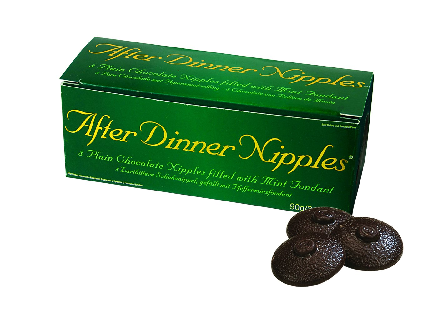 Kenzies Gifts Novelty Chocolate Gift for Men - Chocolate After Dinner Nipples