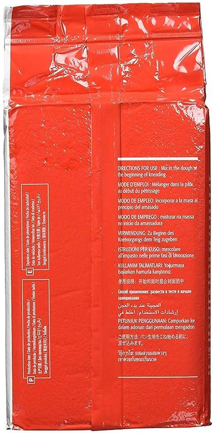 Lallemand Levadura seca – Paquete de 500 gramos de levadura instantánea – Levadura en polvo con calidad de panadería profesional